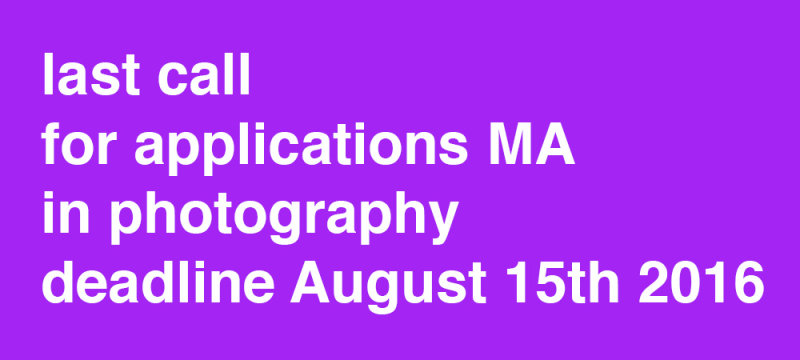 last call for applications MA